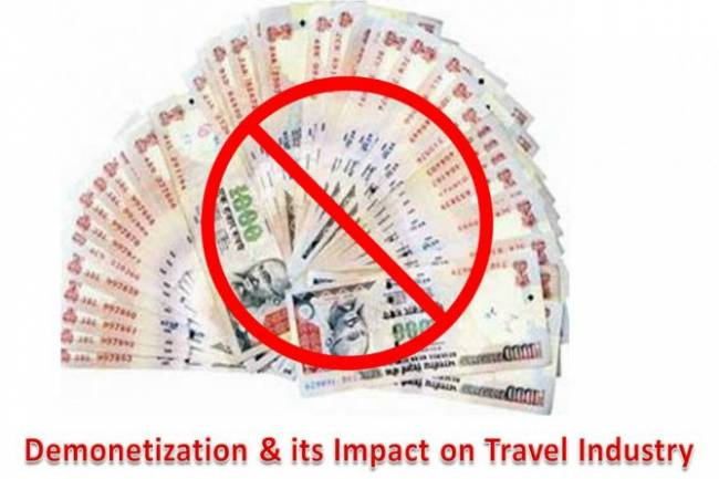 500-1000 demonetization will have major impact on travel industry